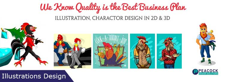Illustration design outsourcing company banner image