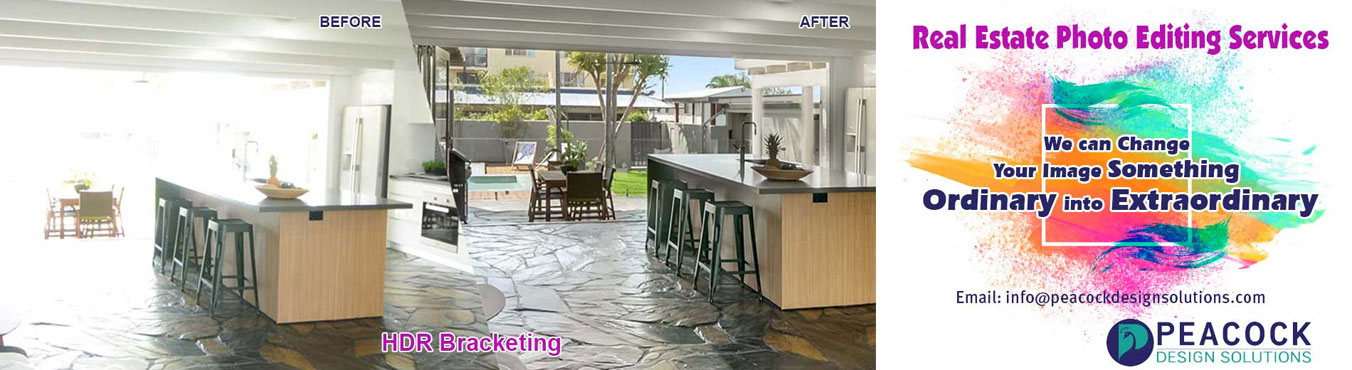 Real Estate Photo Editing Services Banner Images