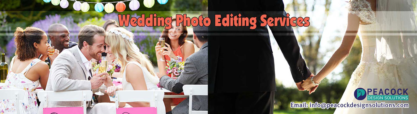 Wedding Photo Editing Services Banner